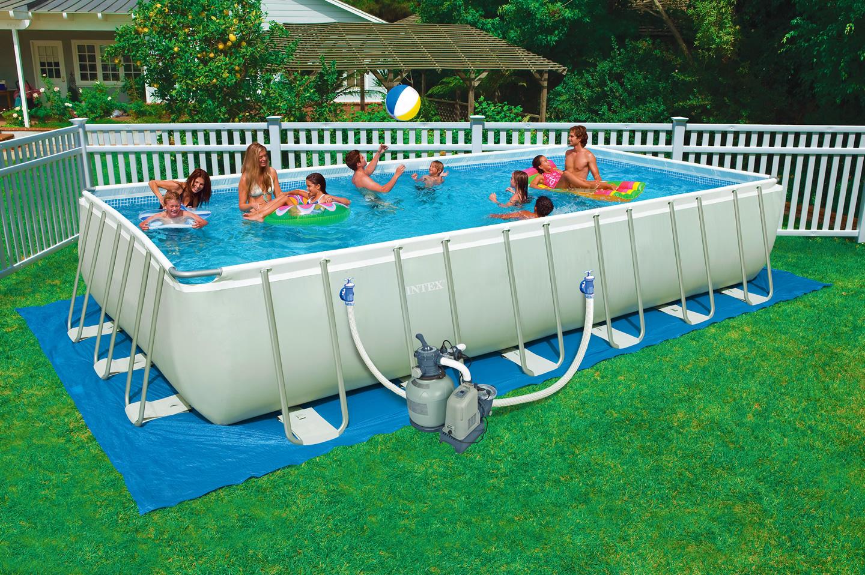 Intex piscine fuori terra tutte le offerte cascare a - Piscine seminterrate prezzi ...
