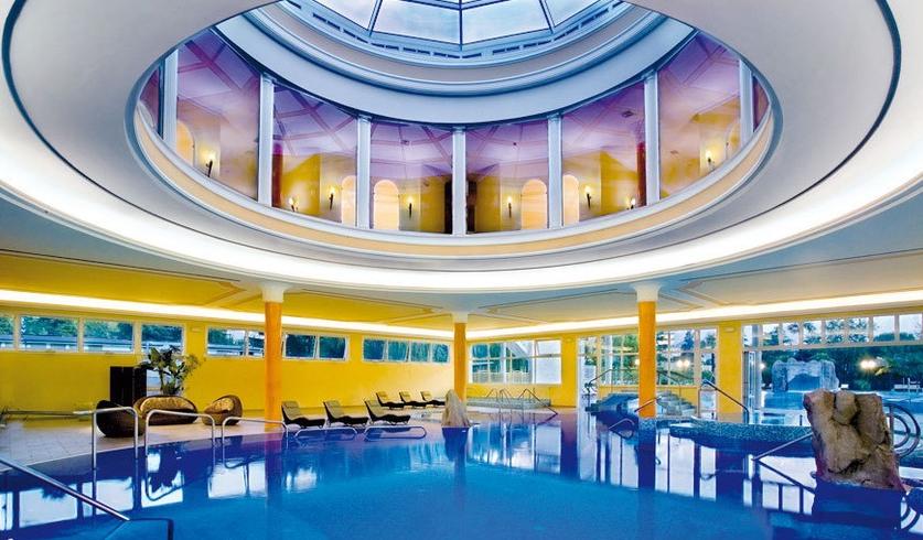 Terme e spa hotel a 4 stelle padova abano terme selvazzano dentro teolo hotel terme all - Abano terme piscine notturne ...