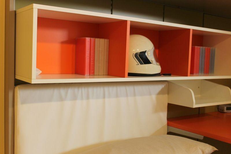 Camera funzionale per ragazzi a prezzo scontato del 54 for Arredamenti rossi