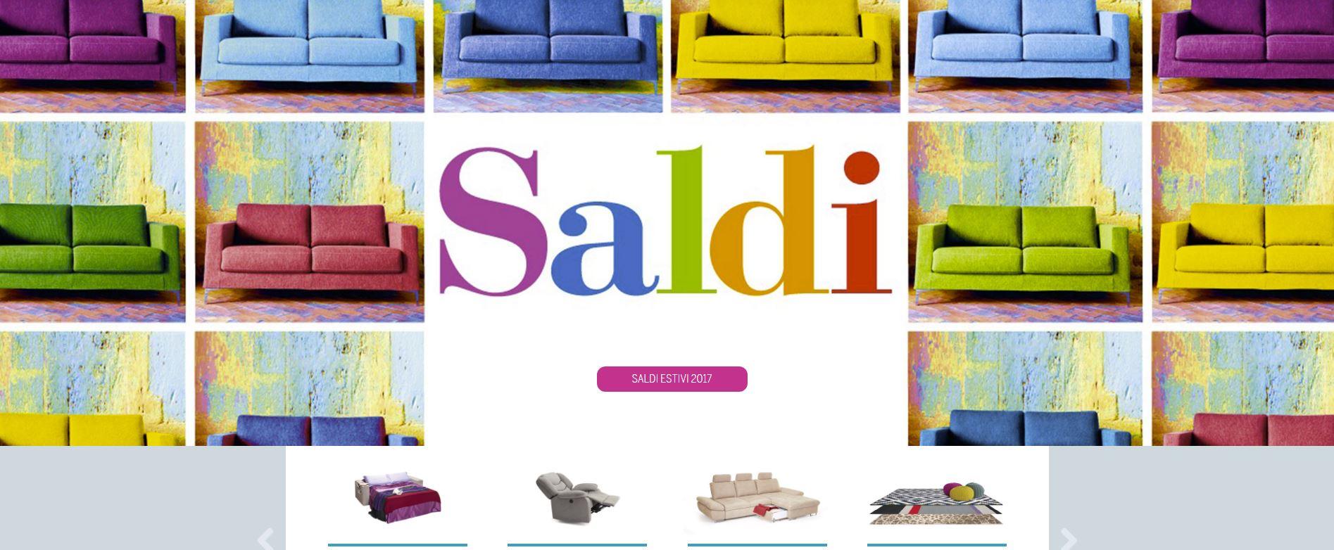 Occasione divani scontati fino al 70 ferrara mobili for Mobili occasione milano