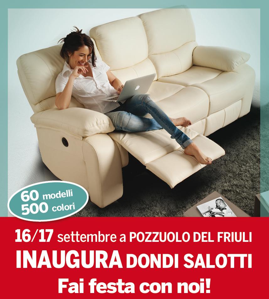 Dondi Salotti Torino.Inaugurazione Zero Anticipo Zero Interessi Dondi Salotti