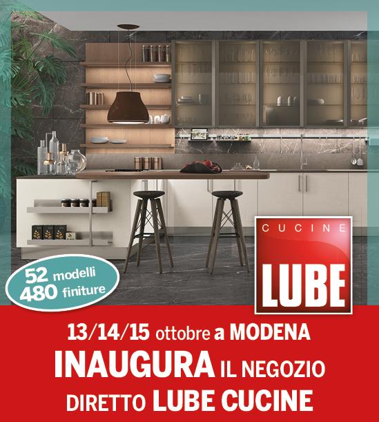 Inaugurazione lube cucine zero anticipo zero interessi dondi home modena payshop payshop - Cucine lube reggio emilia ...