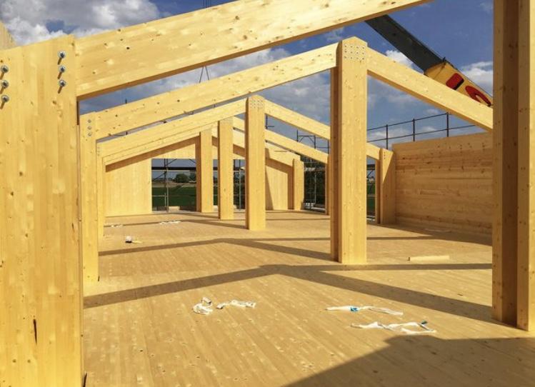 Costruttore di case in legno xlam giorgi robrto rovigo for Case legno xlam