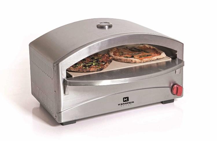 Forno per pizza kamper a gas estense gas bologna payshop for Bruciatore a pellet per forno