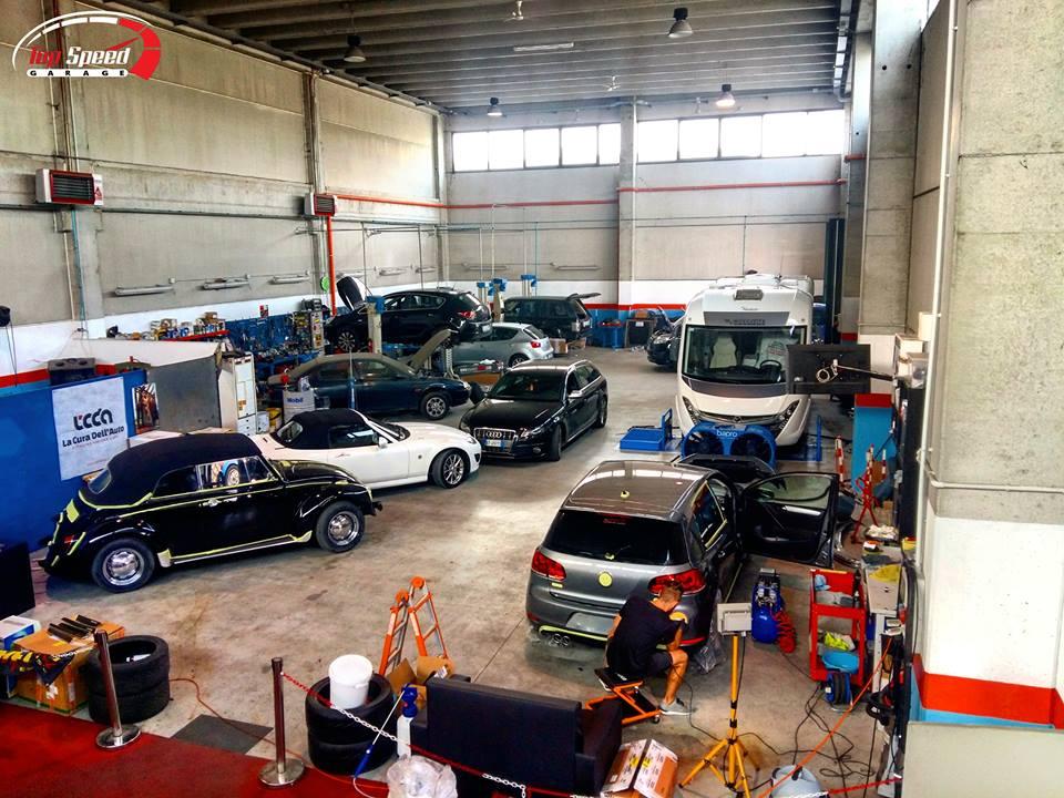 Officina meccanica top speed garage ferrara payshop for Appoggiarsi all aggiunta al garage