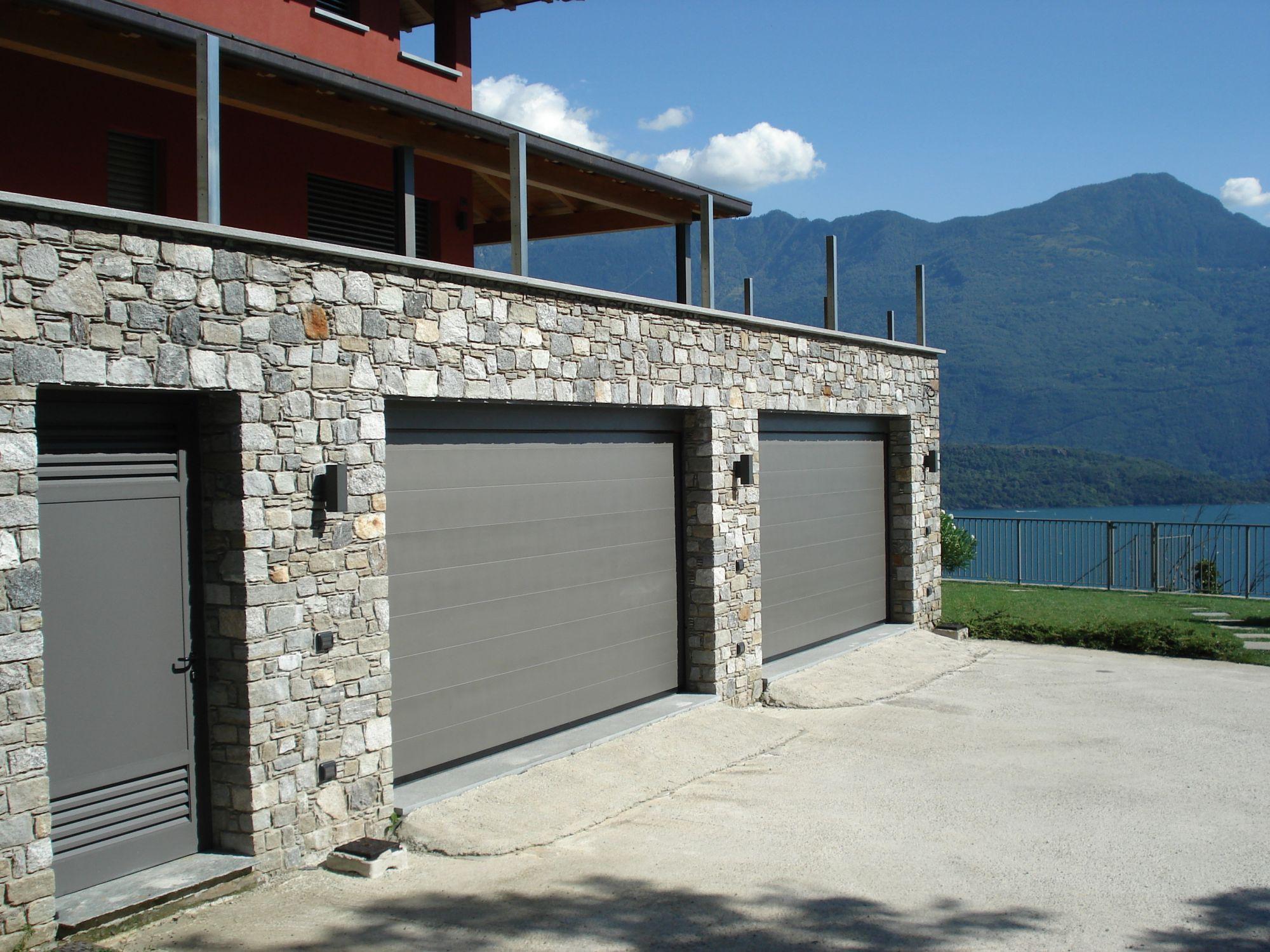 Porte sezionali bbg per garage panizza sistemi di apertura - Porta automatica prezzo ...