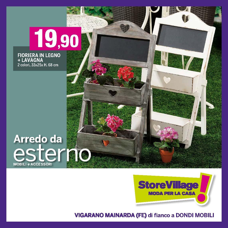 Emejing mobili da giardino offerte gallery for Arredo store