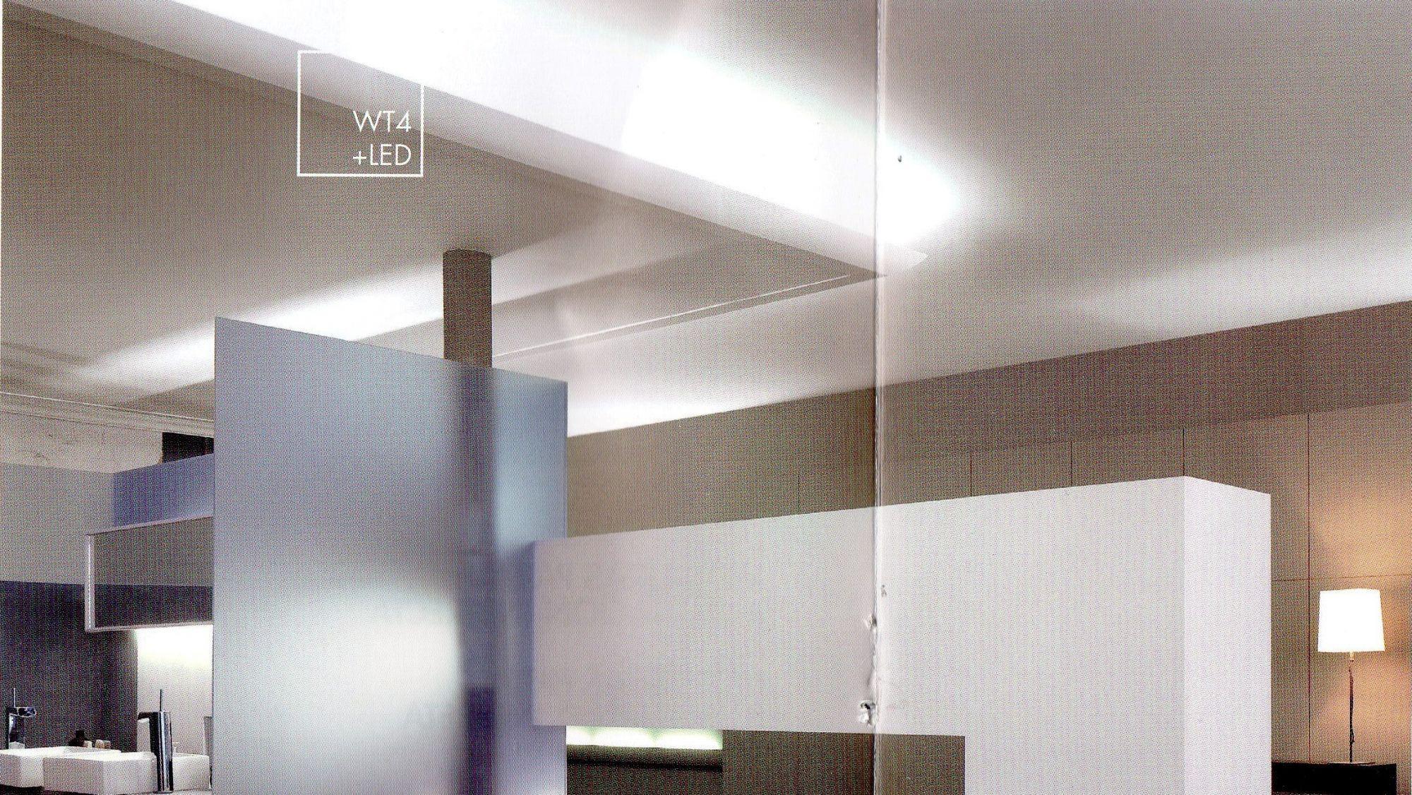 Modanature cornici led per illuminazione indiretta vendita rampado