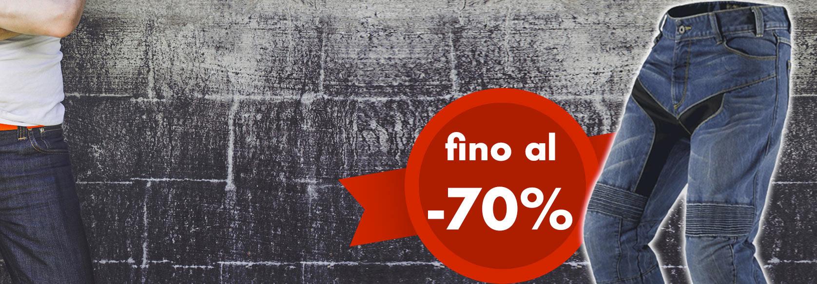 Jeans Moto Scontati fino al -70%