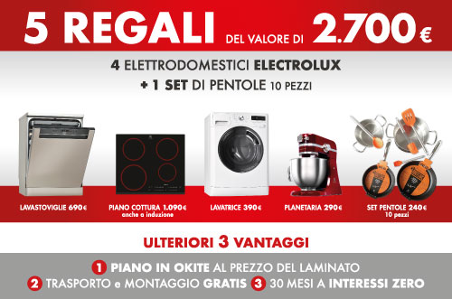 Promo elettrodomestici Lube – Dondi Arreda – Reggio Emilia - PayShop ...