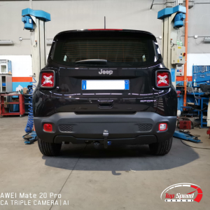 INSTALLAZIONE GANCIO TRAINO JEEP RENEGADE – TOP SPEED GARAGE – FERRARA