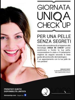 Giornata UNIQA Check up – Vicenza – Isola Vicentina – PROFUMERIA ESTETICA De Marchi Sabrina