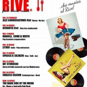 Ristorantino Wine-Bar e Jazz Club – Cartigliano, Nove, Tezze sul Brenta – Osteria Rive