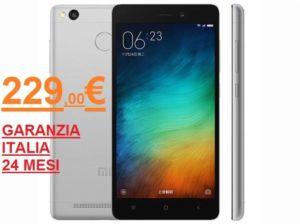 Occasione cellulare XIAOMI REDMI 3S PRIME a 229€ – Ferrara – Mr. Tel