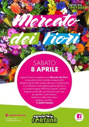 Mercato dei fiori 8 Aprile – Castelgomberto – Vicenza  – Agraria Fortuna