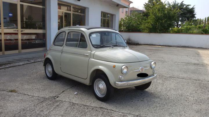 FIAT 500 D PORTECONTROVENTO ANNO 1964 – FRATELLI CARARA – FERRARA