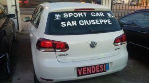 GOLF 6 GPL ANNO 2011 KM 85.000 CIL 1600-SPORT CAR-SAN GIUSEPPE.SS ROMEA 85-(FE)