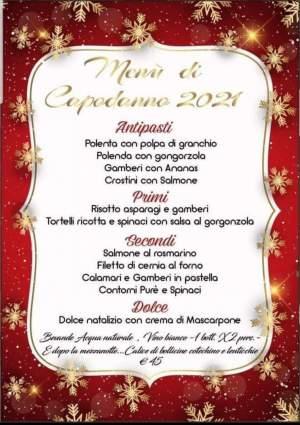 Grande Super Menù di Capodanno al  Ristorante Italiano da Fernando  🔝…..con la speranza che sia migliore…ma molto migliore,…attendiamo insiem