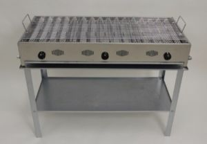 BARBECUE GAS GPL INOX-ESTENSE GAS-FERRARA