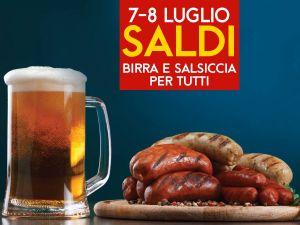 7-8 luglio – FESTA DEI SALDI – Dondi Salotti – UDINE