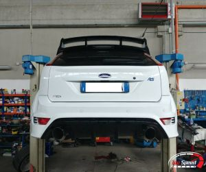 IMPIANTO FRENANTE FORD FOCUS RS – TOP SPEED GARAGE – MANTOVA