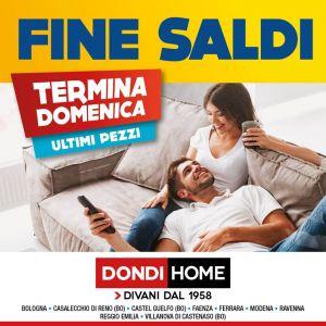 Fine Saldi Dondi – Dondi Home – Bologna