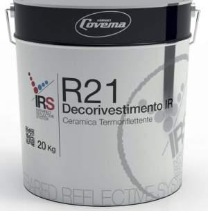 PITTURA PER ESTERNO COVEMA TERMORIFLETTENTE-RAMPADO -FERRARA  Manutenzione innovativa degli esterni degli edifici con sistemi di pitturazione IR rifl
