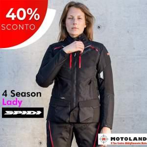 Offerta a Tempo Limitato!    Risparmia sulla tua prossima Giacca da Turismo.    4 Season Lady  è la giacca 3 strati più  apprezzata  dalle mototuris