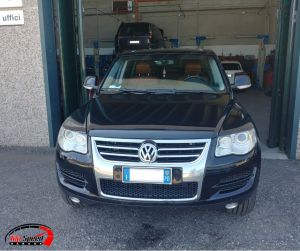RIMAPPATURA VW TUAREG 3.0 TDI – TOP SPEED GARAGE – BOLOGNA