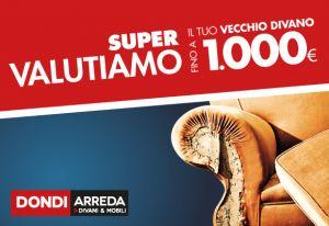 Supervalutazione usato – Dondi Arreda – Ferrara