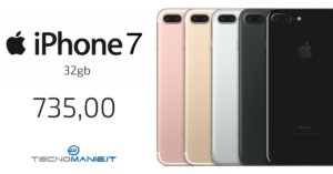 Apple iPhone 7 32gb  Nuovo! 12 mesi di Garanzia! colori disponibili: TUTTI! RISPARMIO DI €.65,00