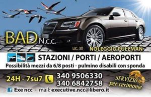 Noleggio Pullman e Pulmini – Ferrara -Comacchio – Amico Bad Taxi