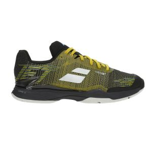 Babolat Jet Mach II Clay Yellow/Black Uomo- Sport tech Ferrara
