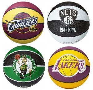 PALLONI DA BASKET NBA – CELTIC, LAKERS, NEETS, CAVALIERS – GELLI SPORT – FERRARA