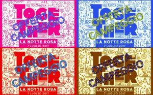 NOTTE ROSA 2017 – LIDI FERRARESI – COMACCHIO – I TRE MOSCHETTIERI CAMPING VILLAGE