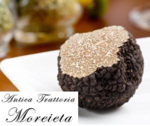 Specialità risotto al tartufo – Padova – Antica Trattoria Moreieta