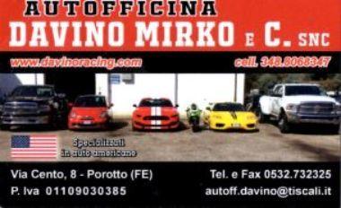 assistenza auto americane -autofficina Davino mirko- ferrara