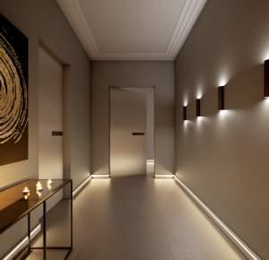 CORNICI E BATTISCOPA LED NOËL & MARQUET-RAMPADO-FERRARA  Gli elementi decorativi NOËL & MARQUET offrono soluzioni di decorazione creative per