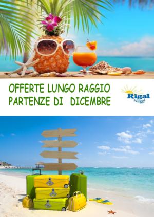 OFFERTE LUNGO RAGGIO DICEMBRE – VICENZA – SCHIO – RIGAL VIAGGI