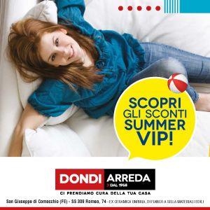 SUMMER VIP – DONDI ARREDA – Comacchio
