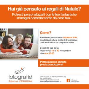 Serata dimostrazione pratica utilizzo programmi online – Vicenza – FOTOGRAFIE DALLA VECCHIA