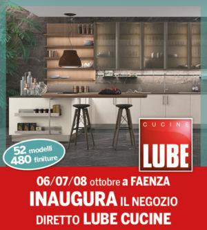 INAUGURAZIONE LUBE CUCINE – zero anticipo zero interessi – Dondi Home – Faenza