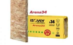 LANA DI VETRO ISOVER ARENA34-RAMPADO-FERRARA     Isover Arena34 è la soluzione ideale per l'isolamento interno, per l'impiego sia con i moderni sist