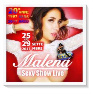 Guest star Malena all' Extasia di Milano