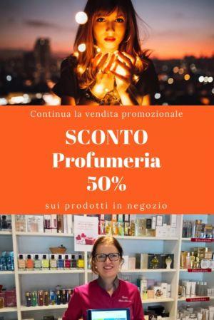 Profumi grandi marche scontati del 50% da Profumeria Estetica Sabrina a Isola Vicentina