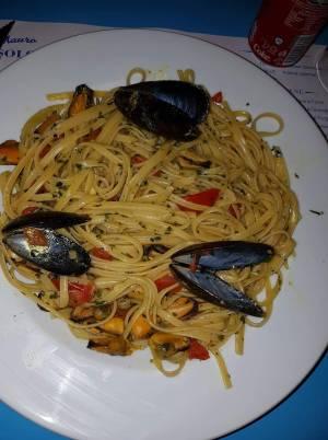 Ferragosto al ristorante italiano Da mauro solo pasta e pizza  a sharm el sheikh, hadaba