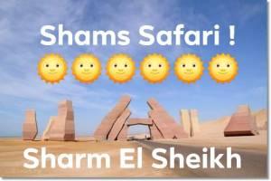 """Agenzia di escursioni terra e mare """" Shams Safari """" a Sharm el sheikh,  old market"""