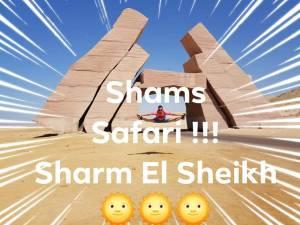 Offerta pacchetti escursioni al Cairo, sharm el sheikh, Mar Rosso- shams safari – sharm el sheikh