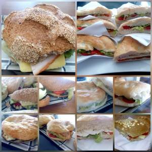 """Pausa pranzo a """"la casa del pane"""" di Sharm El Sheik."""