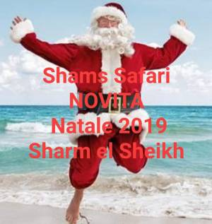 Pacchetto Natale Safari Avventura con agenzia  italiana Shams Safari,  Sharm el sheikh